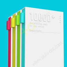 2013 plus-dot design power bank 10000mAh