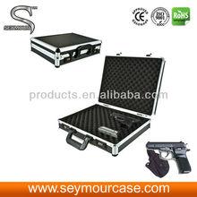Locking Aluminum Hand Gun Box