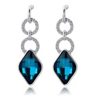 jewelry rhinestone earring wholesale jewelry supplier from China zing ear