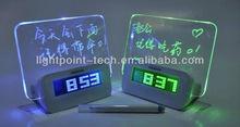 Christmas gift LED Message Board Timing alam digital memo board LED desktop memo board