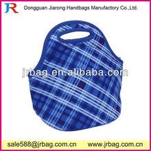 Stripe Neoprene Lunch Carrying Bags