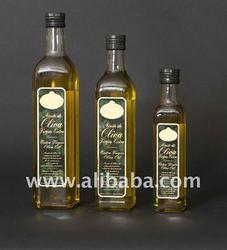Extra Virgin Olive Oil in Marasca Glass bottles