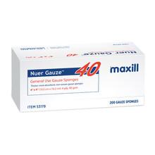 """Nuer Gauze 4 ply Non-Woven - 4"""" x 4"""" Non-Sterile"""
