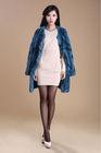 2013 italian lady design rex rabbit fur coat