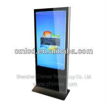 55inch large monitor computer all in one floor standing desktop