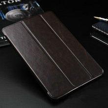 oem luxury black leather case for ipad mini