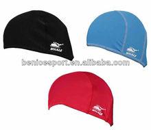 plastic swimming hat,swim hat fashion, fabric swimming caps