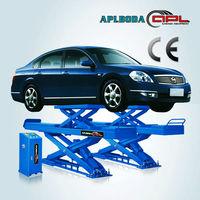 Cheap price aplboda brand CE certificate hydraulic double scissor car lift for car