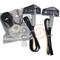 universal integrated Flush Mount LED Euro Clear Turn Signals Light for 1997-2008 Honda CBR 600RR 1000RR 600 F3 F4 F4i