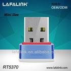 New Design ralink rt5370 802.11n 150mbps wireless network adapter, Mini USB wifi adapter