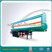 60000L steel sheet fuel transport tank truck semi trailer sales