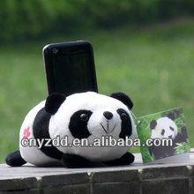 plush mobile holder/cell phone plush holder/mobile phone holder