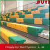 manual dismounted tribune manual bleachers Gymnasim grandstand Retractable grandstand Stadium seats - bench style seatJY-750