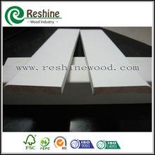 Primed Finger Jointed wooden Bullnose Skirting boards
