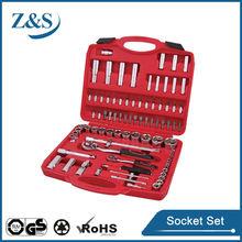 "86pcs 1/2""&1/4"" dr.socket wrench set,universal multi socket"