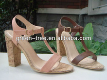 Graceful latest sandals for women 2012
