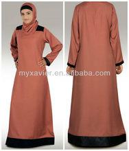 Muslim clothing casual hijab abaya jilbab wholesale(S3067)