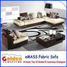 Móveis de ouro l forma barato sofá chesterfield EM-846