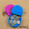 Portable Coin Purse Silicone Women Wallet Bag