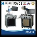Motosiklet parçaları/bükük aksı işaretleme 10W/20w/30W Lazer makinası işaretleme