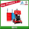 Polyurethane spray foam machine with gun