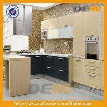 Modern kitchen furniture design with melamine finish