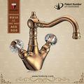 antique style brass taps