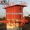 Reusable Foundation Formwork/Flat Formwork/Scaffolding Column Formwork system for Construction pouring cement