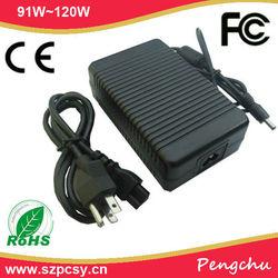 OEM 12v 120w power supply adjustable with US/UK/AU/EU plug