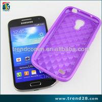 diamond stria design tpu celular phone caes for samsung galaxy i9190 s4 mini