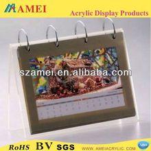 POP fashion design and good handicraft/acrylic calendar/acrylic
