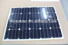 sunpower solar cells high efficiency 18v 130w poly solar panel