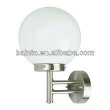Aço inoxidável ao ar livre bola forma lâmpada NY-16WB