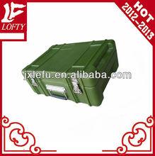 Sealed hard plastic waterproof outdoor case