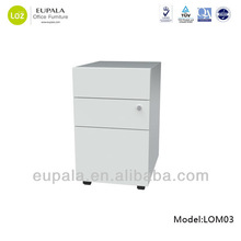 Factory direct office furniture/hanging file storage/metal pedestal cabinet