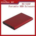 Ultra Thin Sand Blasting USB 2.0 HDD Enclosure 2.5 Inch 2.5 usb3.0 external cases HDD/SSD External Case