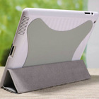 high quality leather smart cover case for ipad 2