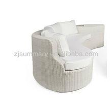 Rattan long beach sofa cushion covers