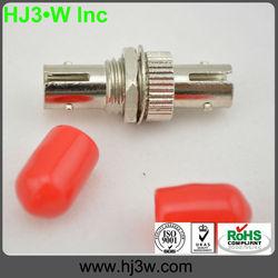 ST Optical Fiber Adapters,Metal sheet,red cat,IL<0.2dB