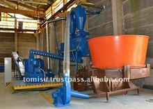 Straw pellets production line (1,8t/h)