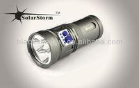 mini strong hgh quality Warrior 2200 lumen led torch light flashlight