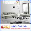 Foshan eMass New model furniture living room fabric sofa EM-860