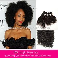 Great 5A full hair cuticle can be dyed kinky culy Brazilian hair Virgin Brazilian hair hot selling