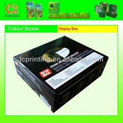 Custom Embossing Paper gift packaging box for platter