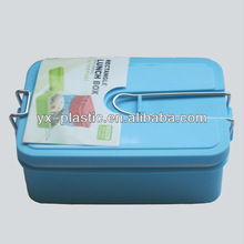 2013 New cuboid PP plastic lunch box/mac mini