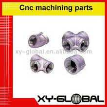 Precision cnc lathe aluminum work