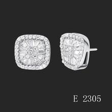 earring vners silver jewelry fashion earring CZ zircon