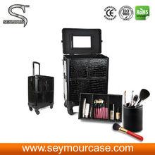 Aluminum top quality hot make up cases box