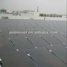 1mw solar system grid tied with 100W thin film solar panels