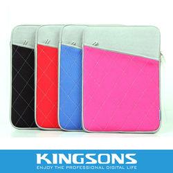 trendy waterproof neoprene notebook sleeve case